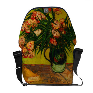 Vincent Van Gogh Vase With Oleanders And Books Courier Bag
