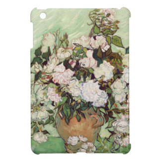 Vincent Van Gogh Vase With Pink Roses Floral Art Cover For The iPad Mini