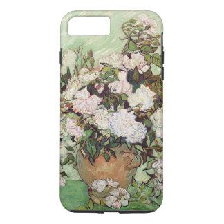 Vincent Van Gogh Vase With Pink Roses Floral Art iPhone 7 Plus Case