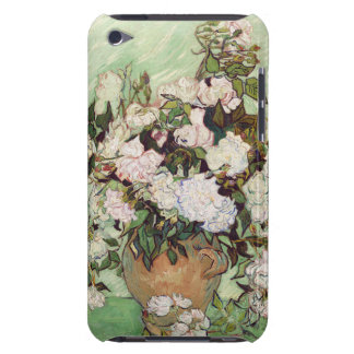 Vincent Van Gogh Vase With Pink Roses Floral Art iPod Touch Case-Mate Case