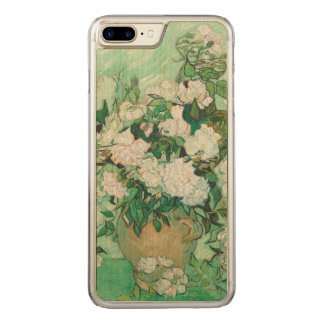Vincent van Gogh Vase with Pink Roses GalleryHD Carved iPhone 8 Plus/7 Plus Case