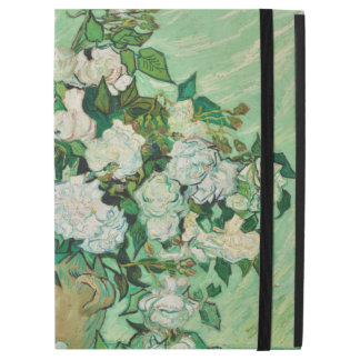"Vincent van Gogh Vase with Pink Roses GalleryHD iPad Pro 12.9"" Case"