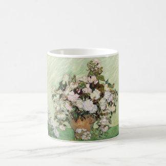 Vincent Van Gogh Vase With Pink Roses Mugs