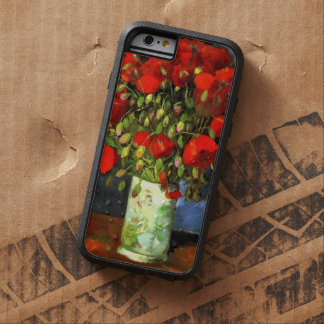 Vincent Van Gogh Vase With Red Poppies Floral Art Tough Xtreme iPhone 6 Case