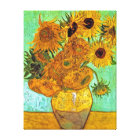 Vincent Van Gogh - Vase With Twelve Sunflowers Canvas Print