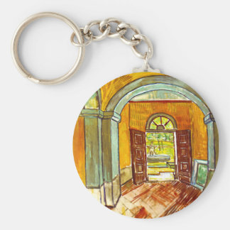 Vincent Van Gogh - Vestibule Of The Asylum Keychain