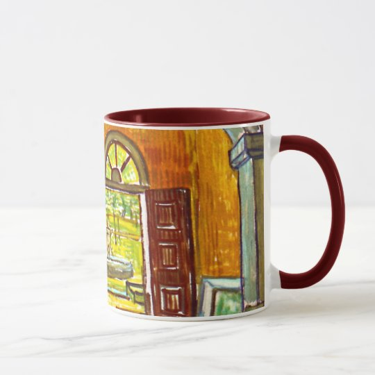 Vincent Van Gogh - Vestibule Of The Asylum Mug