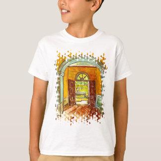 Vincent Van Gogh - Vestibule Of The Asylum T-Shirt