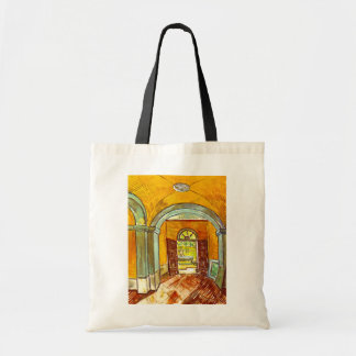 Vincent Van Gogh - Vestibule Of The Asylum Tote Bag