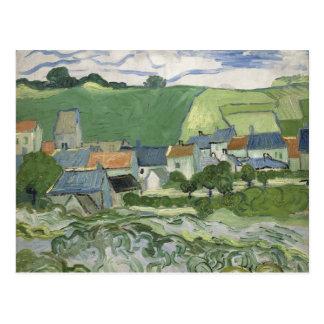 Vincent van Gogh - View of Auvers Postcard