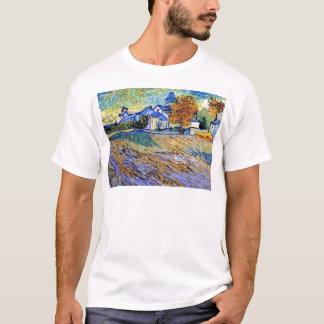 Vincent Van Gogh - View of the Asylum and Chapel T-Shirt