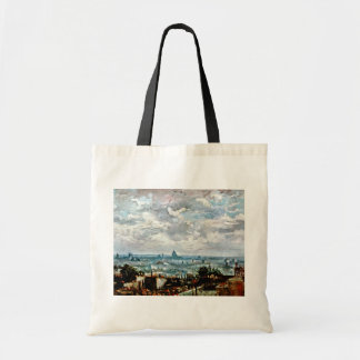Vincent Van Gogh - View Of The Roofs Of Paris Tote Bag