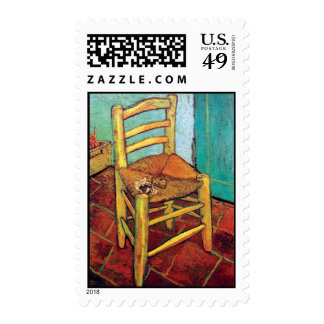 Vincent Van Gogh - Vincent's Chair With Pipe Postage