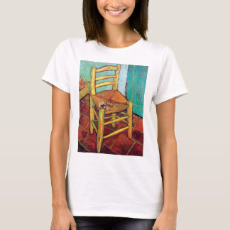 Vincent Van Gogh - Vincent's Chair With Pipe T-Shirt