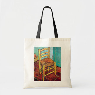 Vincent Van Gogh - Vincent's Chair With Pipe Tote Bag