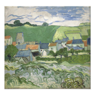 Vincent van Gogh - vista de Auvers Cojinete