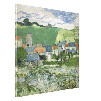 Vincent van Gogh - vista de Auvers Lona Estirada Galerías