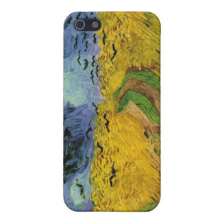 Vincent van Gogh Wheat Field Threatening Skies Case For iPhone SE/5/5s