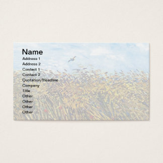 Vincent Van Gogh - Wheat Field With A Lark Business Card