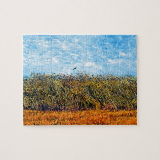 Vincent Van Gogh - Wheat Field With A Lark Jigsaw Puzzle