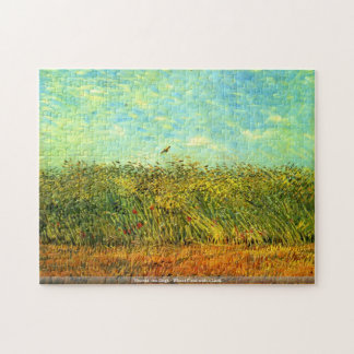 Vincent van Gogh - Wheat Field with a Lark Puzzle