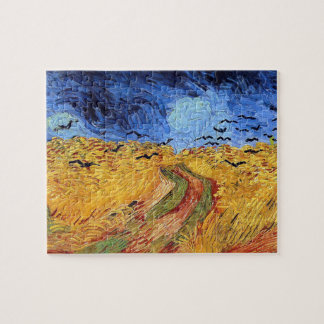 Vincent Van Gogh - Wheat Field with Black Crows Jigsaw Puzzle