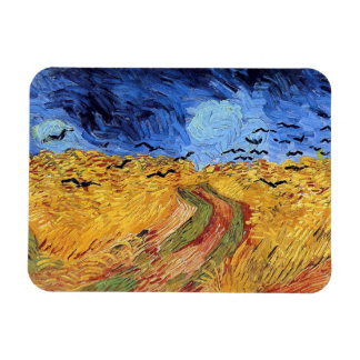Vincent Van Gogh - Wheat Field with Black Crows Magnet