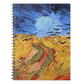 Vincent Van Gogh - Wheat Field with Black Crows Notebook