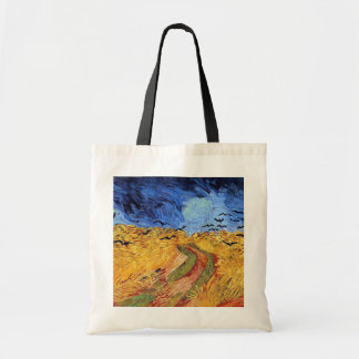Vincent Van Gogh - Wheat Field with Black Crows Tote Bag