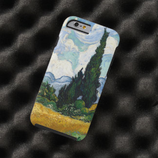 Vincent Van Gogh Wheat Field With Cypresses Tough iPhone 6 Case