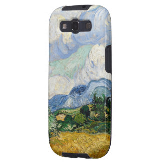 Vincent Van Gogh Wheat Field With Cypresses Galaxy SIII Case