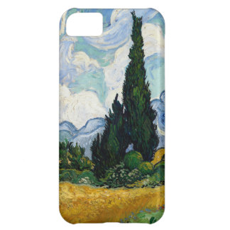 Vincent Van Gogh Wheat Field With Cypresses Cover For iPhone 5C