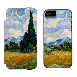 Vincent Van Gogh Wheat Field With Cypresses Incipio Watson™ iPhone 5 Wallet Case
