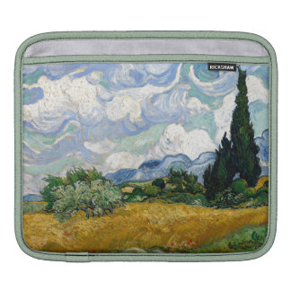 Vincent Van Gogh Wheat Field With Cypresses Sleeves For iPads