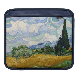 Vincent Van Gogh Wheat Field With Cypresses Sleeve For iPads