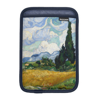 Vincent Van Gogh Wheat Field With Cypresses Sleeve For iPad Mini