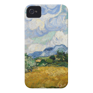 Vincent Van Gogh Wheat Field With Cypresses iPhone 4 Cover