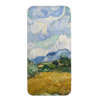 Vincent Van Gogh Wheat Field With Cypresses iPhone 5 Pouch