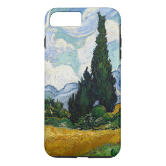 Vincent Van Gogh Wheat Field With Cypresses iPhone 8 Plus/7 Plus Case