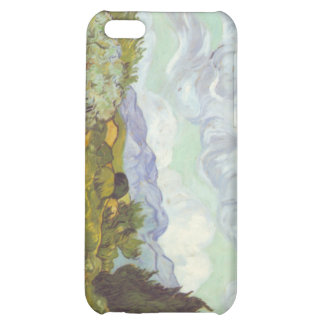Vincent Van Gogh -  Wheat Field with Cypresses iPhone 5C Cases