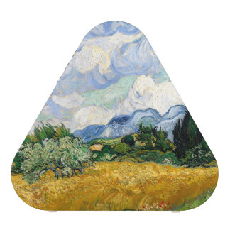 Vincent Van Gogh Wheat Field With Cypresses Bluetooth Speaker