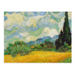 Vincent Van Gogh - Wheat Field with Cypresses Postcards