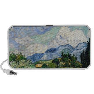 Vincent Van Gogh Wheat Field With Cypresses Travelling Speakers