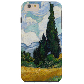 Vincent Van Gogh Wheat Field With Cypresses Tough iPhone 6 Plus Case