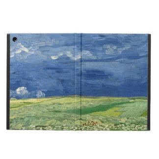 Vincent van Gogh - Wheatfield debajo de las nubes