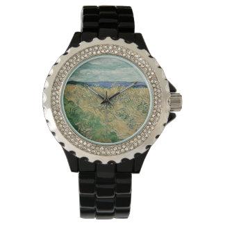 Vincent Van Gogh - Wheatfield With Cornflowers Wrist Watches