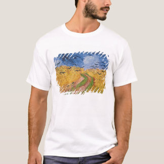 Vincent van Gogh | Wheatfield with Crows, 1890 T-Shirt