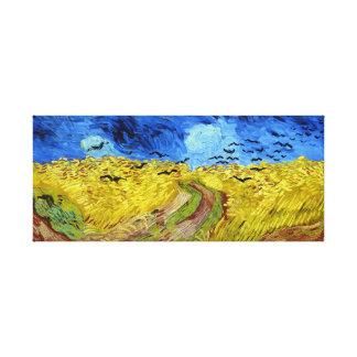 Vincent van Gogh Wheatfield with Crows Canvas Print
