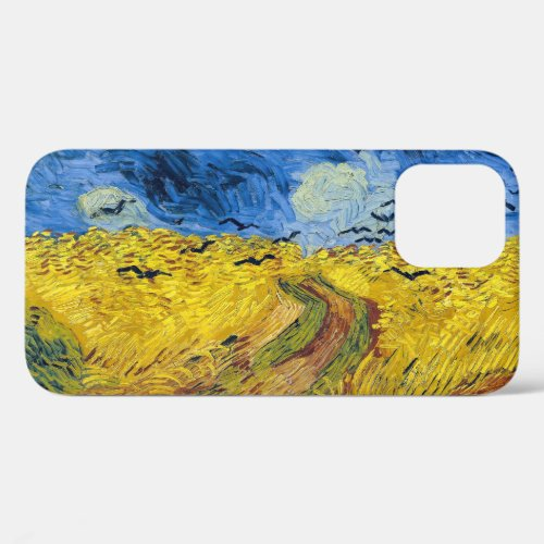 Vincent van Gogh - Wheatfield with Crows Phone Case