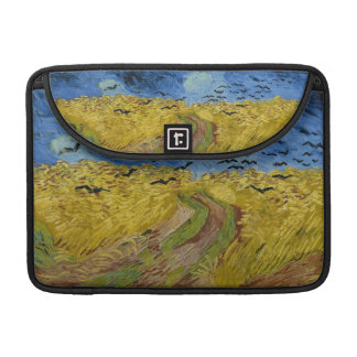 Vincent van Gogh - Wheatfield with crows Sleeve For MacBooks